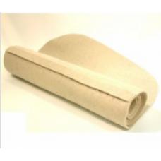 Банный коврик Классический темный войлок (с вышивкой)